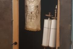 Torah and Quran scrolls
